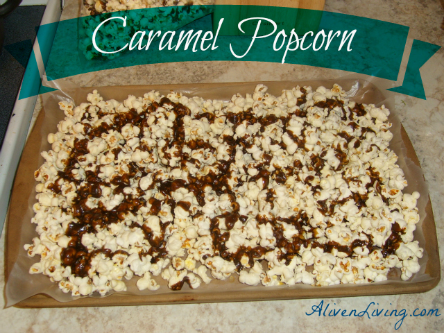 Caramel popcorn a real food recipe alive and living easter sunday lunch and dinner is always spent at my grandparents house it is always a special time and i am thankful to have grandparents that get forumfinder Choice Image